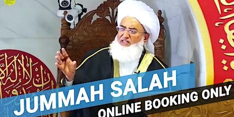 1st Jummah Prayer | 12:30PM | 4 December | Arabic | Hafiz Muhammed Akram tickets