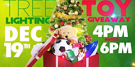 Christmas Tree Lighting & 6th Annual Toy Giveway tickets