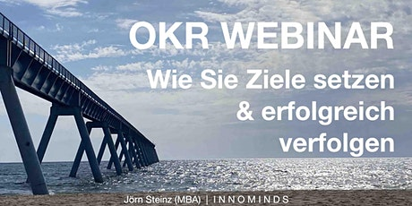 OKR Webinar mit OKR Vorlage in Excel & umfassenden Unterlagen Tickets