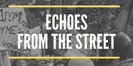 Echoes from the Street: Activist Perspectives on Violence and Civil Society tickets