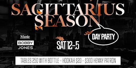 Sagittarius All Black Attire Day Party tickets