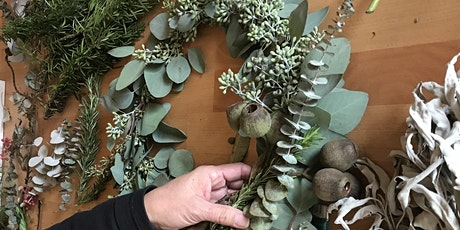 DIY Holiday Wreath Workshop tickets