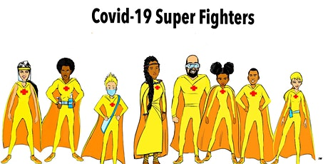 A Time of Fun & Adventure Meet The Covid-19 Super Fighters Zoom Book Launch tickets