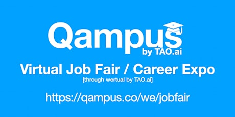 #Qampus Virtual Job Fair/Career Expo #College #University Event #San Diego tickets