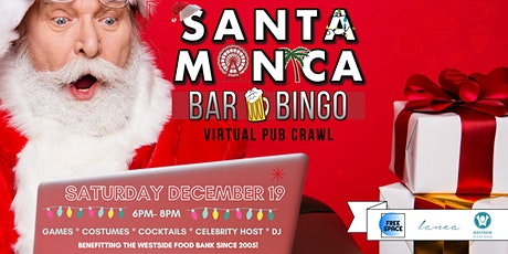 12th Annual SANTA Monica Pub Crawl - Virtual Edition tickets