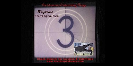 Ragtime Silent Film Secret Speakeasy Sun Dec 13th 7pm tickets