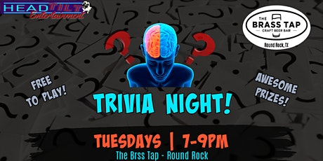 General Trivia at The Brass Tap Round Rock tickets