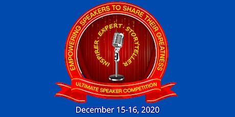 ULTIMATE SPEAKER COMPETITION & SPEAKER WORKSHOP tickets
