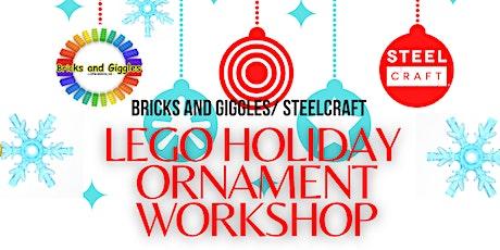 LEGO Christmas ornament workshop tickets
