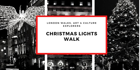 CHRISTMAS LIGHTS WALK - SMALL GROUP WALK WITH OFFICIAL GUIDE tickets