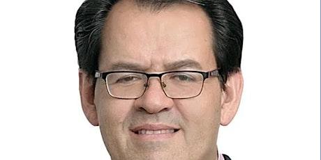 Encuentro con Bernardo Naranjo, la 4T  y sus daños en materia educativa boletos