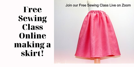 Enjoy Some Free Sewing Classes tickets