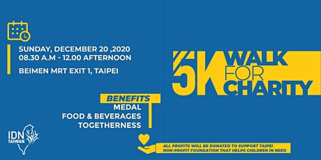 5k Walk for Charity tickets