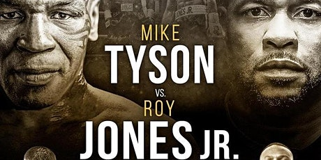 StrEams@!.MIKE TYSON V ROY JONES Jr. FIGHT LIVE ON 29 Nov 2020 tickets