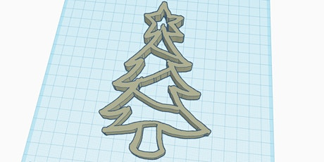 Design ornaments using TinkerCAD tickets
