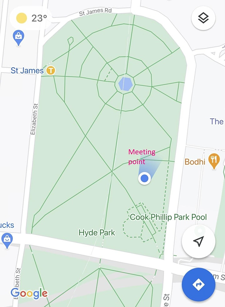 45min Outdoor Yoga Class - MORNING/LUNCH (Hyde Park) image