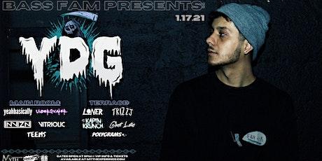 Bass Fam Presents: YDG Live at Myth Nightclub | Sunday, 01.17.21 tickets