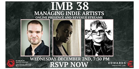 IMB #38 - Managing Indie Artists tickets