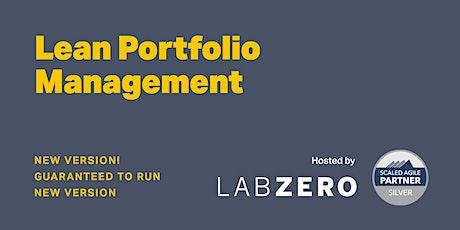 Lean Portfolio Management - Remote - Guaranteed to Run tickets