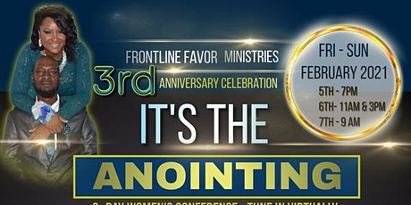 "Frontline Favor ""It's the Anointing"" tickets"