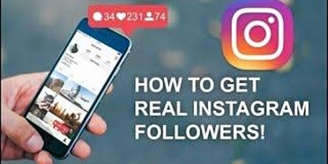 [Free Masterclass] Get More Real, Targeted Instagram Followers Safely tickets