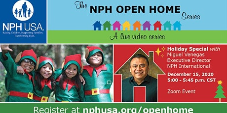 NPH Open Home: Holiday Special! tickets
