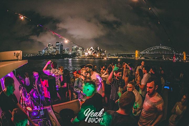 Yeah Buoy - New Year Sunrise - Boat Party image