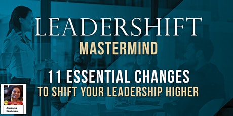 Virtual Mastermind Group for Leaders #202012 - Leadershift tickets