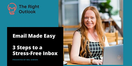 Email Made Easy - 3 Steps to a Stress Free Inbox tickets