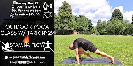 Stamina Flow - Outdoor Yoga Class in Toronto Park n°29 tickets
