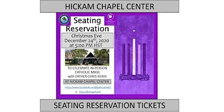 JBPHH Hickam Chapel Center Christmas Eve Thursday 5:00 PM Catholic Mass tickets