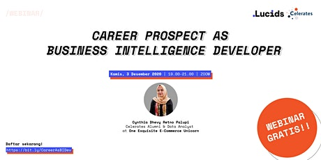 Career Prospect as Business Intelligence Developer tickets