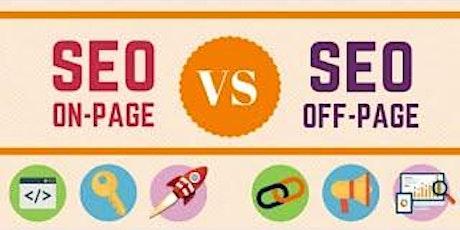 [Free SEO Masterclass] On Page SEO vs Off Page SEO Strategies tickets
