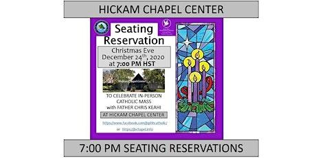 JBPHH Hickam Chapel Center Christmas Eve Thursday 7:00 PM Catholic Mass tickets