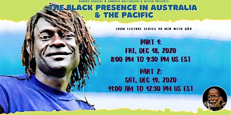 Dr Rashidi 2-Day Course: The Black Presence in Australia & the Pacific tickets
