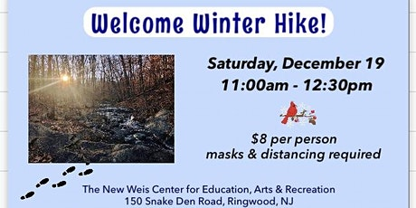 Welcome Winter Hike! tickets