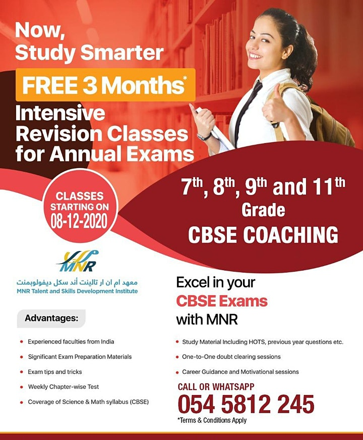 Free Revision Class for CBSE Students image