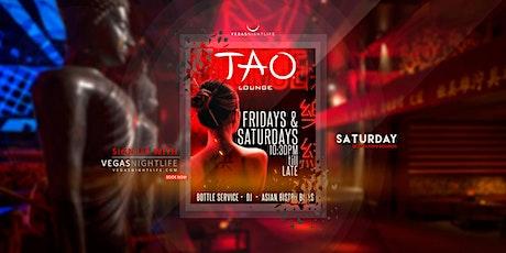 TAO Lounge Saturday Las Vegas tickets