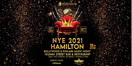 NYE 2021 HAMILTON BOLLYWOOD AND PUNJABI MUSIC NIGHT tickets