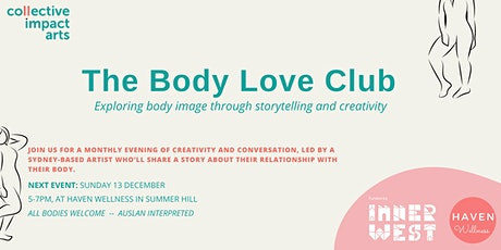 The Body Love Club: Session 4 tickets
