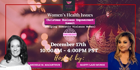 Christmas Business Empowerment Summit (Helping Domestic Violence Women) tickets