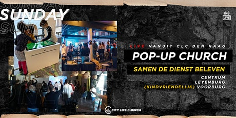 Pop-Up Church zo. 6 december - Centrum (Bleyenberg tickets