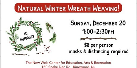 Natural Winter Wreath Weaving! tickets