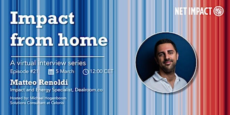 Impact From Home | Episode #21 Exploring the Impact Start-up Landscape tickets