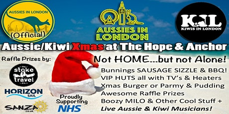 Aussie & Kiwi Xmas Day BBQ at The Hope & Anchor tickets