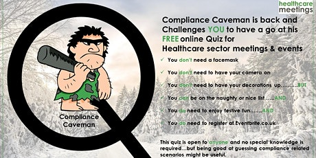 End of 2020 Compliance Caveman Challenge for Healthcare Meetings tickets