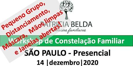 WORKSHOP PRESENCIAL DE CONSTELAÇÃO FAMILIAR POR PATRICIA BELDA ingressos
