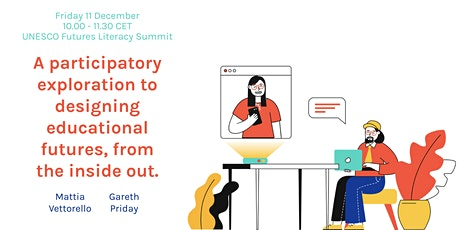 A participatory exploration to designing educational futures. tickets