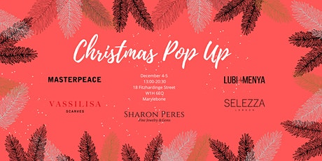 Christmas Jewellery and Clothing Pop Up in Marylebone tickets