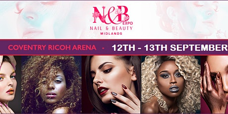 Nails, Beauty & Hair Expo Coventry 2021 tickets